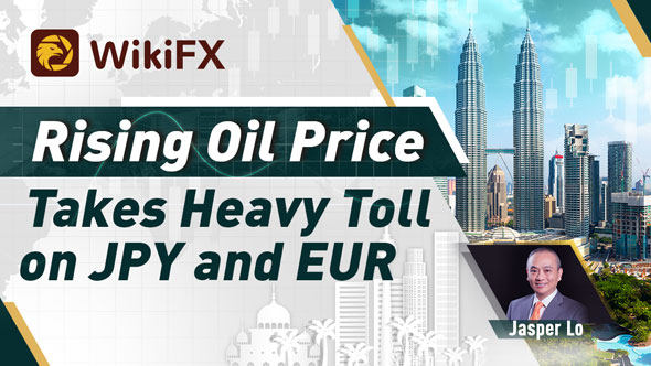 Rising Oil Price Takes Heavy Toll on JPY and EUR